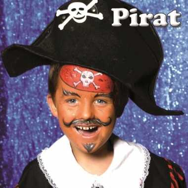 Piraat schminken schminkset carnavalskleding roosendaal
