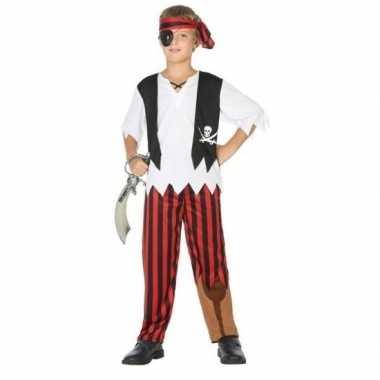 Piraten verkleed set jongens carnavalskleding roosendaal