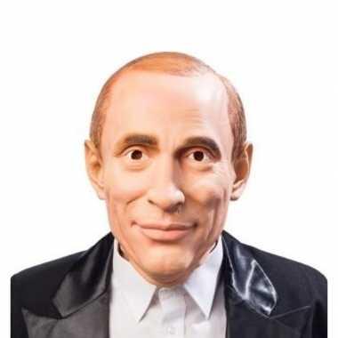 Poetin verkleed masker volwassenen carnavalskleding roosendaal