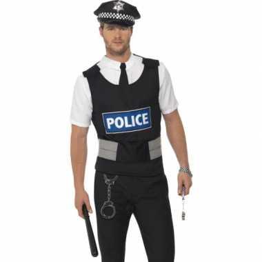 Politie verkleed set volwassenen carnavalskleding Roosendaal