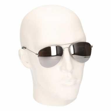 Politiebril volwassenen model carnavalskleding roosendaal