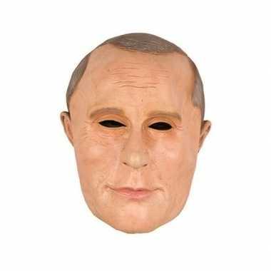 President poetin masker latex carnavalskleding roosendaal