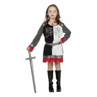 Ridder jurkje meisjes carnavalskleding roosendaal