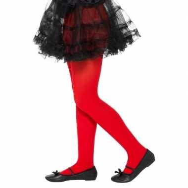 Rode legging kinderen jaar carnavalskleding roosendaal