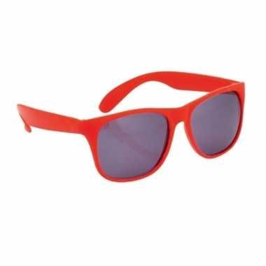 Rode zonnebril carnavalskleding roosendaal
