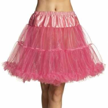 Roze petticoat dames carnavalskleding roosendaal