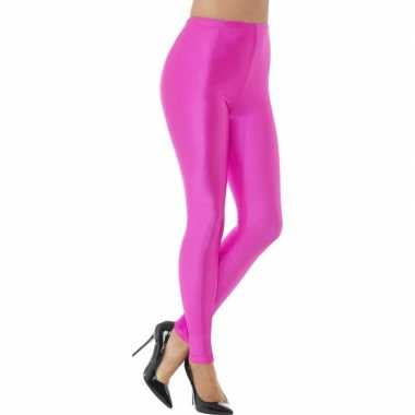 Roze Carnavalskleding Dames.Roze Spandex Verkleed Legging Dames Carnavalskleding Roosendaal