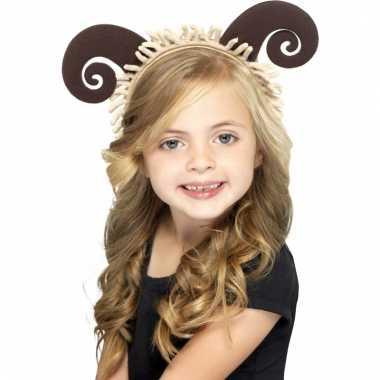 Carnavalskleding schapen haarband kinderen roosendaal