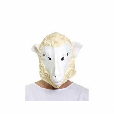 Carnavalskleding schapen masker volwassenen roosendaal