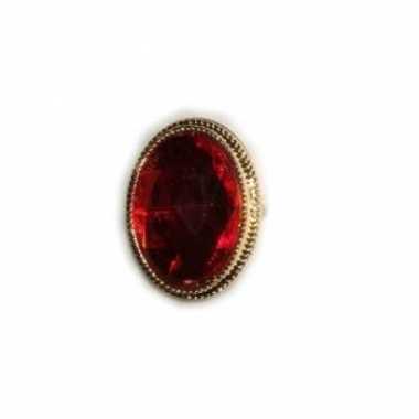 Sinterklaas ring rode steen carnavalskleding roosendaal