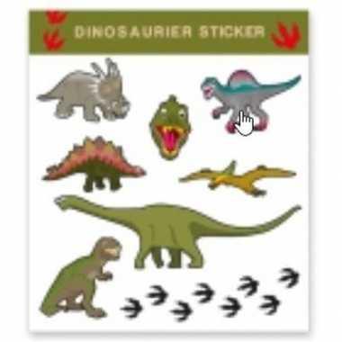 Tattoo stickers dinosaurussen stuks carnavalskleding roosendaal