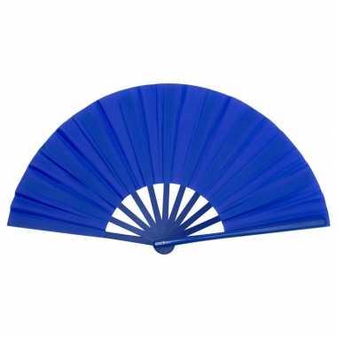 Toppers handwaaier spaans blauw carnavalskleding roosendaal