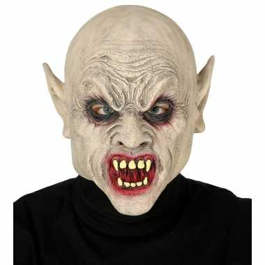 Vampier/zombie horror masker latex carnavalskleding roosendaal