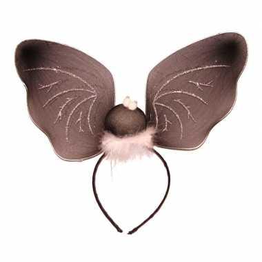 Vleermuizen vleugels diadeem carnavalskleding roosendaal