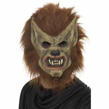 Weerwolf masker latex carnavalskleding roosendaal