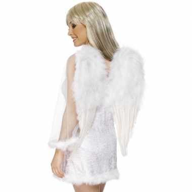Witte engelenvleugels dames carnavalskleding roosendaal