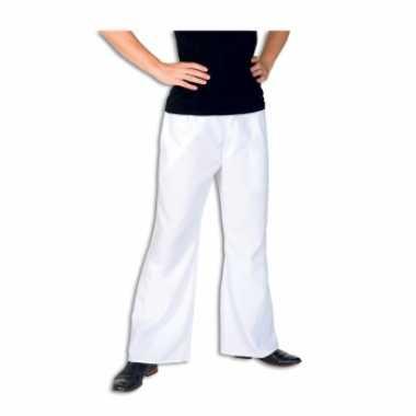 Carnavalskleding witte lange broek heren roosendaal