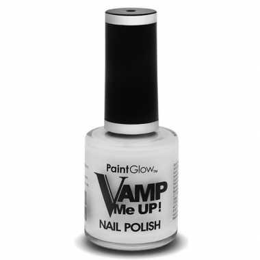 Witte matte nagellak vamp me up ml carnavalskleding roosendaal