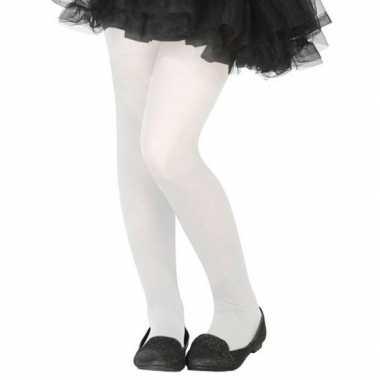 Witte verkleed panty kinderen carnavalskleding roosendaal