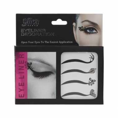 X eyeliner decoratie stickers carnavalskleding roosendaal