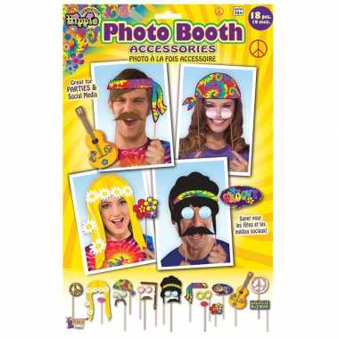 X foto props hippie feestje carnavalskleding roosendaal