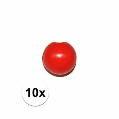 X rode clownsneus/neuzen zonder elastiek carnavalskleding roosendaal