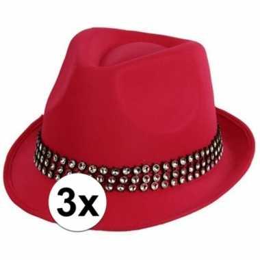 X roze toppers hoed zilveren steentjes carnavalskleding roosendaal