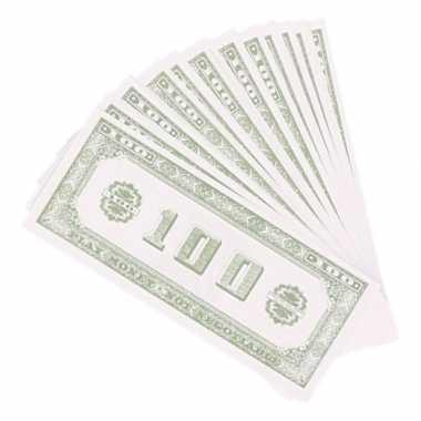 X speelgeld nep dollar biljetten dollar carnavalskleding roosendaal
