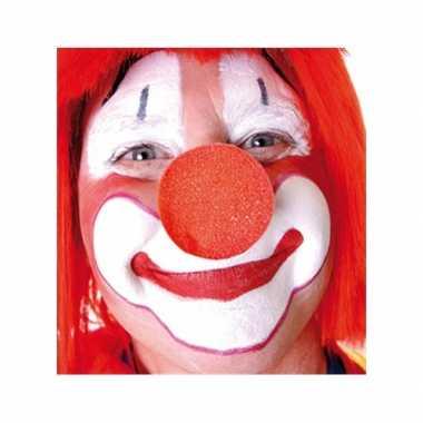 X stuks rode clowns neus/neuzen foam carnavalskleding roosendaal