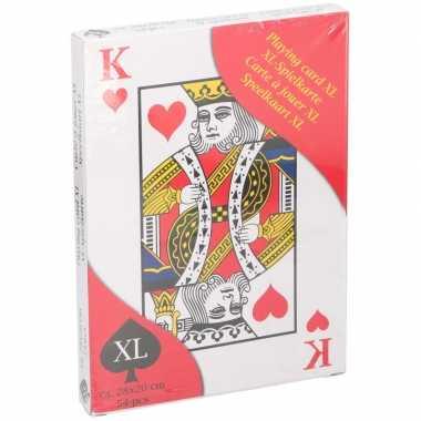 Xl speelkaarten carnavalskleding roosendaal