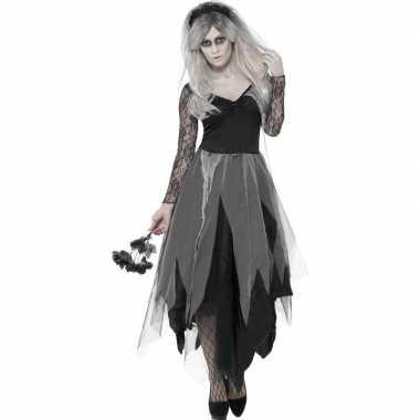 Zombie bruidsjurk dames carnavalskleding roosendaal