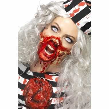 Zombie latex make up set carnavalskleding roosendaal