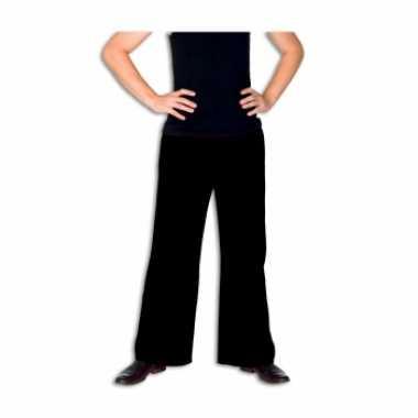 Carnavalskleding zwarte lange broek heren roosendaal
