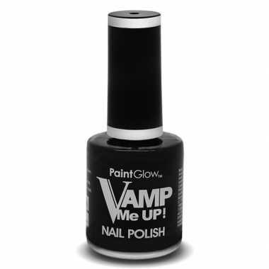 Zwarte matte nagellak vamp me up ml carnavalskleding roosendaal