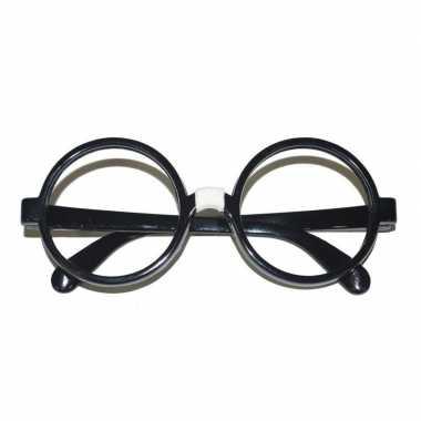 Zwarte nerd bril volwassenen carnavalskleding roosendaal