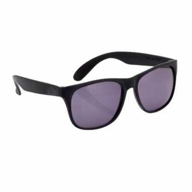 Zwarte zonnebril carnavalskleding roosendaal