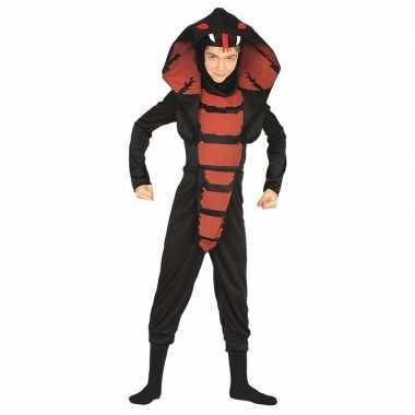 Cobra ninja slangen carnavalskleding jongens roosendaal