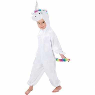 Dierencarnavalskleding eenhoorn rainy onesie verkleed carnavalskledin