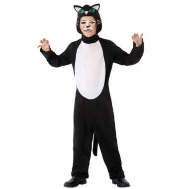 Dierencarnavalskleding kat/poes verkleed carnavalskleding kinderen ro