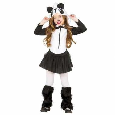 Dierencarnavalskleding panda verkleedjurkje meisjes roosendaal