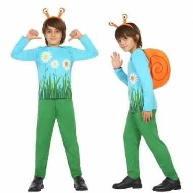 Dierencarnavalskleding slak/slakken verkleed carnavalskleding jongens