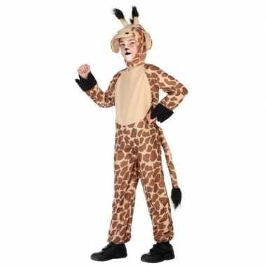 Dierencarnavalskleding verkleed carnavalskleding giraffe kinderen roo