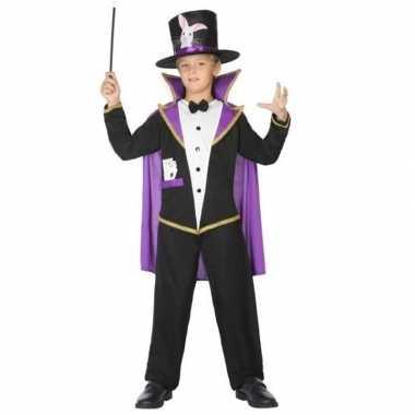 Goochelaar verkleed carnavalskleding/carnavalskleding kinderen roosen