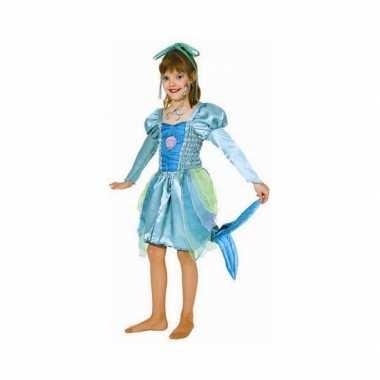 Groen zeemeermin carnavalskleding meisjes roosendaal