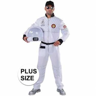Grote maat astronaut verkleed carnavalskleding heren roosendaal