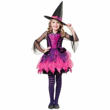 Halloween barbie heksen carnavalskleding meisjes roosendaal