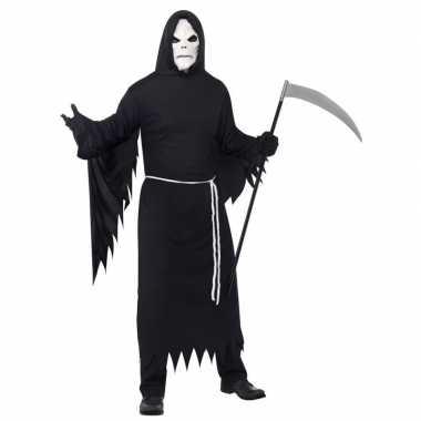 Halloween carnavalskleding magere hein masker volwassenen roosendaal