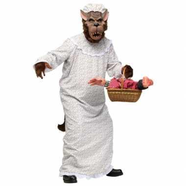 Halloween grote boze wolf carnavalskleding volwassenen roosendaal