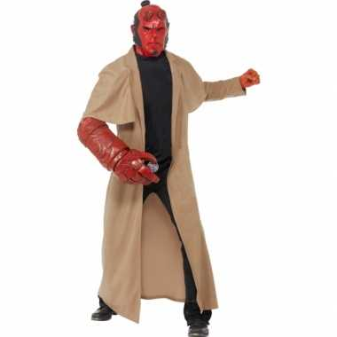 Halloween Hellboy carnavalskleding inclusief masker Roosendaal