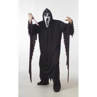 Halloween scream carnavalskleding grote maat roosendaal